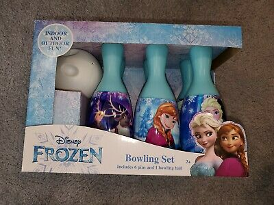 Disney Frozen Elsa Anna Toddler Bowling Toy Set NEW