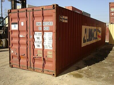 Used 40 Dry Van Steel Storage Container Shipping Cargo Conex Seabox Baltimore