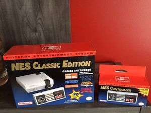 NES Classic Edition with Extra Controller