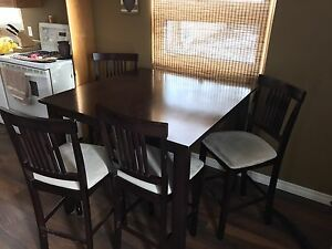 Espresso Kitchen Table and Chair set..
