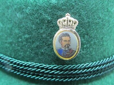 King Ludwig II of Bavaria  Oktoberfest Hat Pin