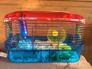 WANT GONE- Hamster Cage - Bedding and More!!