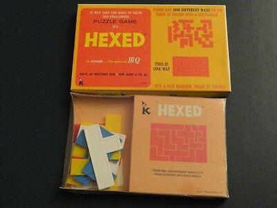 VINTAGE SEALED PUZZLE - HEXED BY KOHNER - FACTORY SEALED - 1970 HTF UNUSED