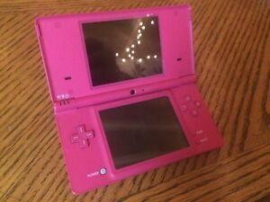 Nintendo DSi with adapter