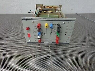 Kepco Ops 2000b 0-2000v 0-10ma Operational Power Supply High Voltage