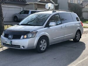 2004 Nissan quest SL safety low km 121613