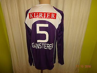 FK Austria Wien Nike Langarm Matchworn Trikot 2005/06 + Nr.5 Gansterer Gr.L image