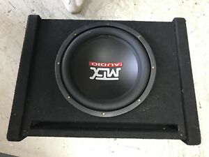 Subwoofer & enclosure only
