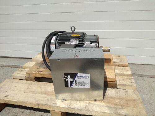 15HP Rotary Phase Converter CNC Balanced