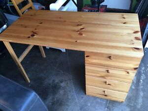 IKEA Pine Desk - drop off included