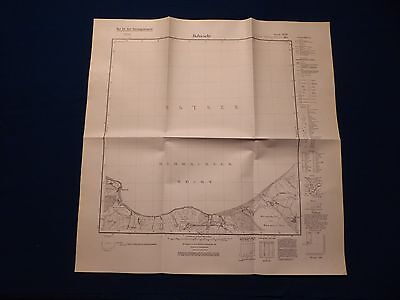 Landkarte Meßtischblatt 1630 Hohwacht, Weißenhaus, Gr. Wessek, um 1945