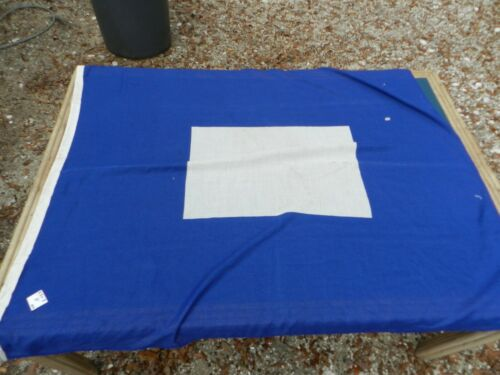 "Vintage Big Ship Cloth Flag  Letter   ""P""    3 1/2 ft X 5 ft"
