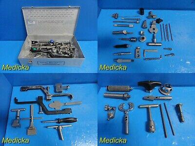 69x Stryker Howmedica Osteonics Assorted Orthopedic Instrument W Case 19508