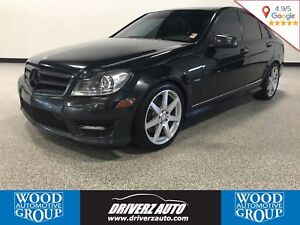 2012 Mercedes-Benz C-Class AWD, Rear Camera, Financing Available