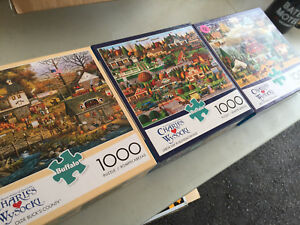 Puzzles $2 each or trade