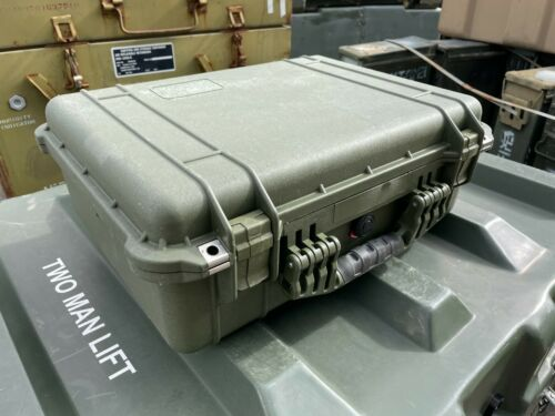 "Pelican 1520 Protector Case | Hardigg Green | 19.78 x 15.77 x 7.41"" | Hard Case"