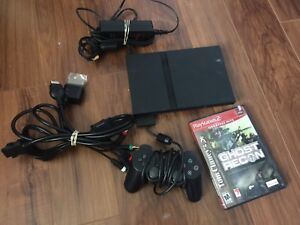Play station one slim video game System works excellent