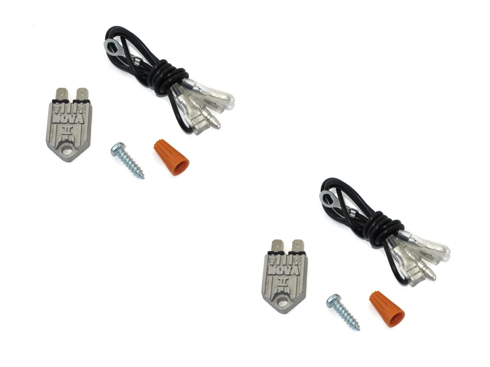 (2) ELECTRONIC TRANSISTORIZED IGNITION MODULE NOVA II
