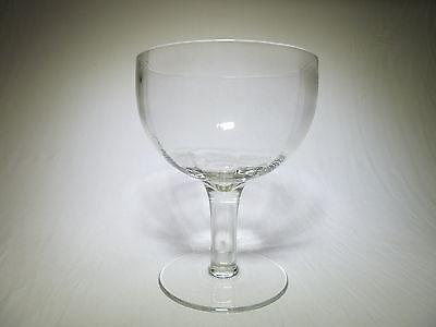 0,3l Weißbierschale Berliner Weiße Glas gerippt alt neutral