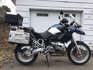 BMW R1200GS 2004 New tires