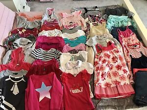Huge Lot of Size 5 Girls Clothes!