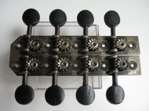 Vintage Antique Lyon & Healy Mandolin Tuners Set for Project