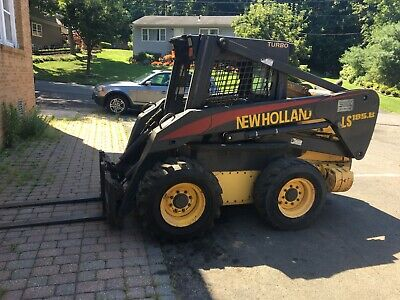 Skid Steer New Holland Ls 185b