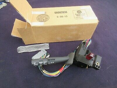 NOS 1995-2000 Turn Signal Wiper Switch - Chevy GMC Silverado 1500 2500 Cadillac