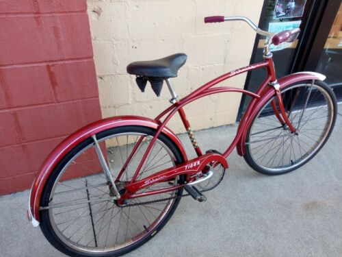 Schwinn Tiger Bicycle 1962 Complete 2-Speed Middle Weight