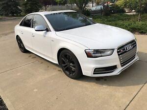 2014 Audi S4  --  WHITE