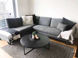 5 Seater Corner Chaise Sofa Couch