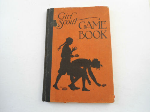 Girl Scout Game Book Revised Edition 1929 Hardcover