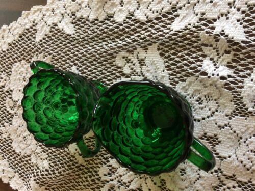 Depression green bubble cream and sugar  mint cond.