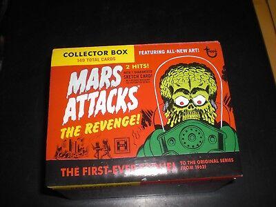 MARS ATTACK THE REVENGE COMPLETE SET 110 CARDS