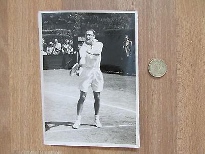 Geoffrey Paish  1950S Gb  Davis Cup Tennis  Player Original Photo No 1