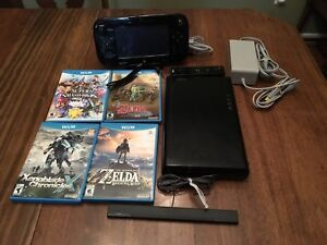Wii U 32 gb with 4 games