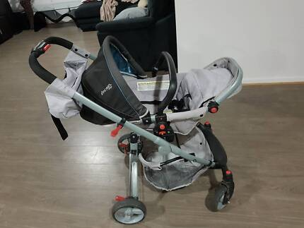 First years Indigo stroller/pram in good used condition for sale