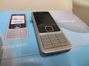 BRAND NEW NOKIA 6300 MOBILE PHONE Silver Unlocked 2MP Camera