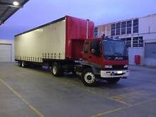 selling single axle prime mover with boggie axle trailer ...... Lyndhurst Greater Dandenong Preview