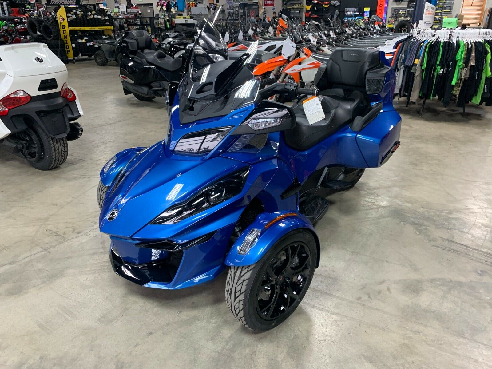 2019 Can-Am SPYDER RT LTD SE6  NEW 2019 19 CAN-AM CANAM SPYDER RT LTD SE6 OXFORD BLUE AUDIO BUY IT NOW $20499