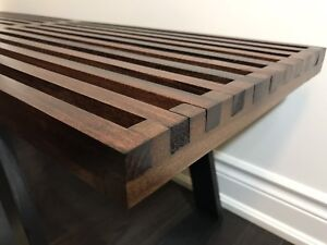 Modern Coffee Table Bench