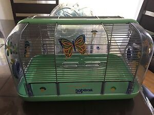 Cage habitrail rongeur hamster a donner