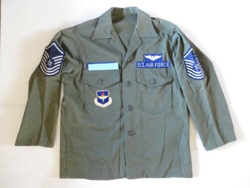 VNM era USAF OG-107 uniform (jacket and trouser) size medium/short