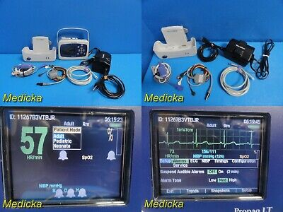 Welch Allyn Propaq Lt Handheld Monitor Wpatient Leadsadapternew Battery20257