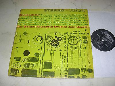 THE WERNER-ROSENGREN SWEDISH JAZZ QUARTET ORIGINAL 1st PRESS US VINYL LP