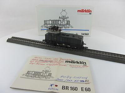 Märklin 34561 Elektrolok Br E60 09 der DR in grau, sehr guter Zustand und m. OVP