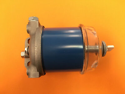 Allis Chalmers Tractor Cav Fuel Filter Assembly 5040 5045 5050 72089560 Glass