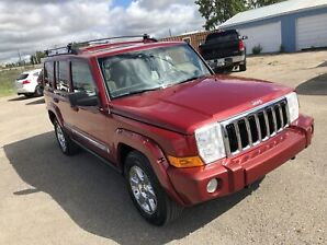 2006 Jeep Commander Limited V8 4X4 7 Passenger DVD