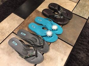 Women's Name Brand Sandals LOT For Sale - Like New!
