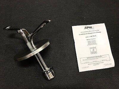 Apw Wyott Lscti-x Stainless Steel Condiment Pump